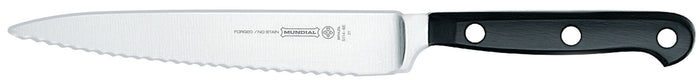 MUNDIAL Utility Knife Serrated  15cm