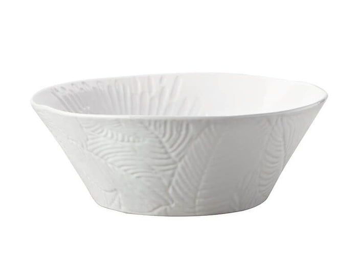 MAXWELL & WILLIAMS MW Panama Round Serving Bowl 25cm White Gift Boxed