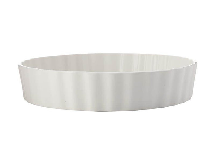 MAXWELL & WILLIAMS MW Epicurious Deep Quiche Dish 24x5cm White Gift Boxed