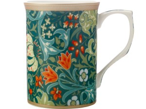 CASA DOMANI William Morris Mug 300ML Gift Boxed