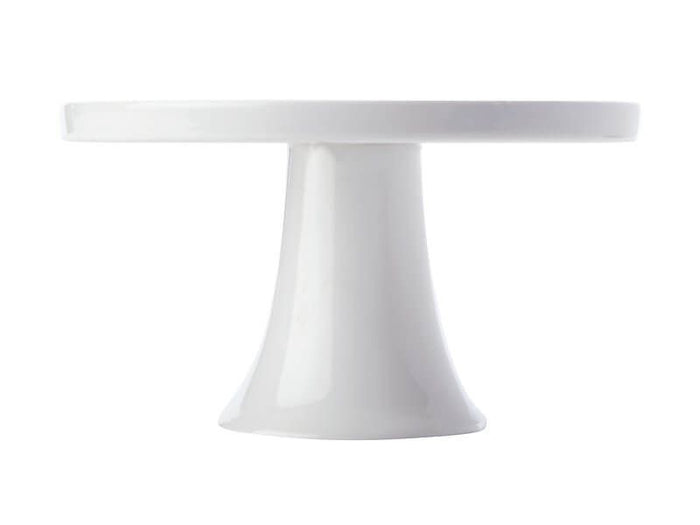 MAXWELL & WILLIAMS MW White Basics Footed Cake Stand 30cm Gift Boxed