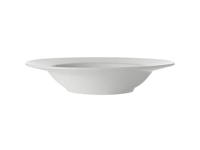 MAXWELL & WILLIAMS MW White Basics Rim Soup Bowl 23cm