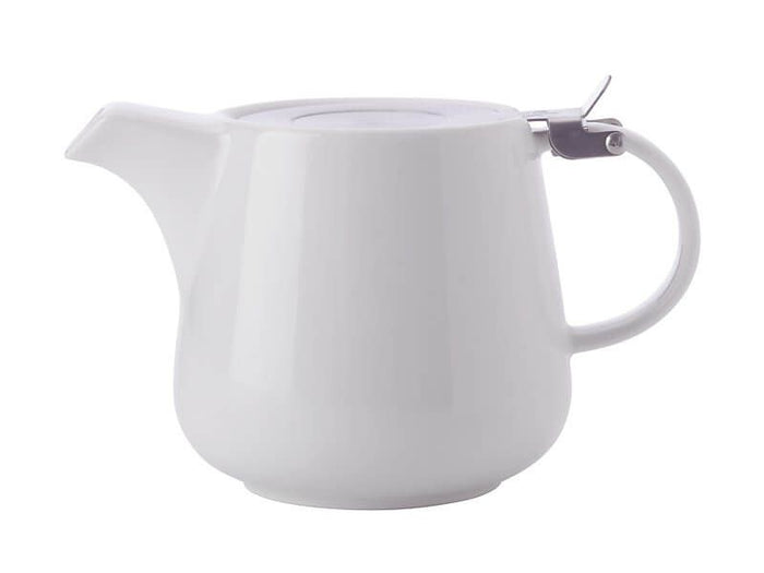 MAXWELL & WILLIAMS MW White Basics Teapot with Infuser 1.2L White Gift Boxed