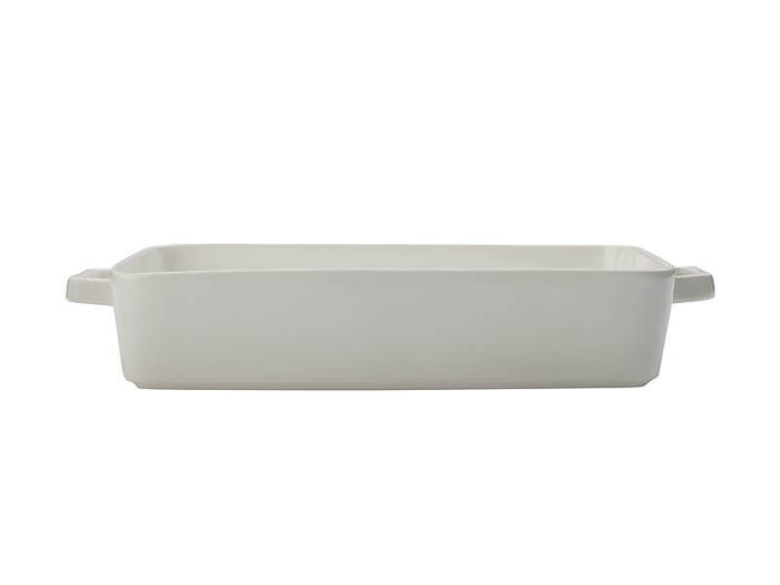 MAXWELL & WILLIAMS MW Epicurious Lasagne Dish 36x24.5x7.5cm White Gift Boxed