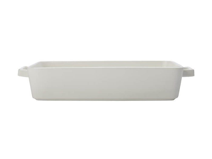 MAXWELL & WILLIAMS  MW Epicurious Rectangle Baker 32x22.5x7cm White Gift Boxed
