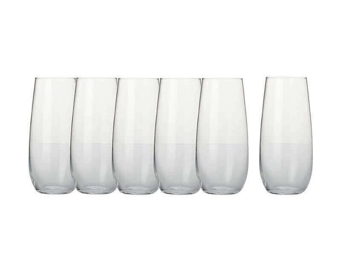MAXWELL & WILLIAMS MW Mansion Stemless Flute 230ML Set 6 Gift Boxed