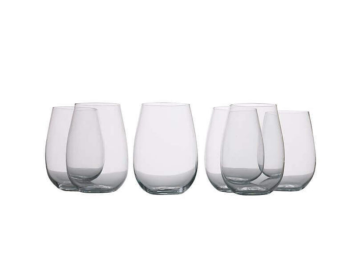 MAXWELL & WILLIAMS  MW Mansion Stemless White Wine 500ML Set of 6 Gift Boxed