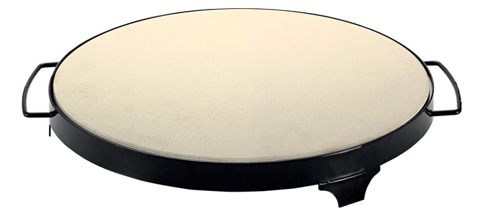 AVANTI 38cm BBQ Pizza Stone with Rack