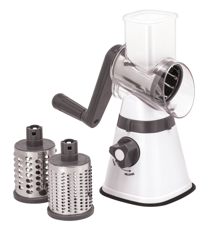 AVANTI Table Top Drum Grater with 3 Blades