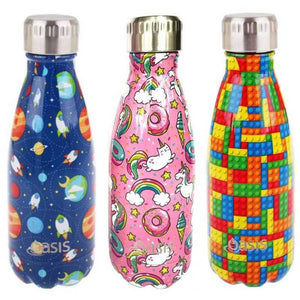 OASIS Hydration water bottle double wall stainless steel 500ml PATTERNS