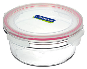 GLASSLOCK Round Oven Safe Glass Container 450ml