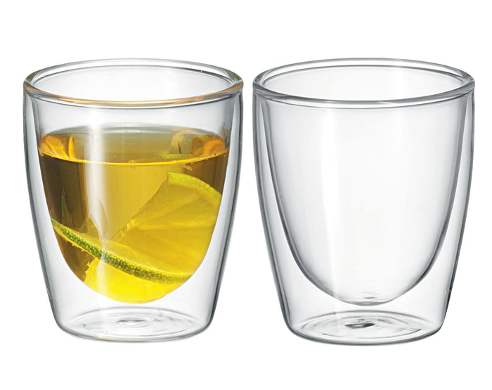 AVANTI Caffe Twin Wall Glass - Set of 2