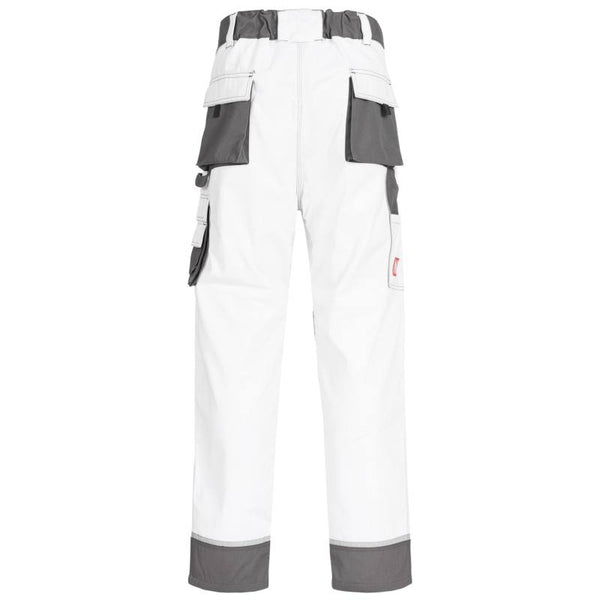 NITRAS Bundhose Motion Tex Plus weiß / grau