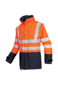 SIOEN Warnschutz Parka Brighton orange