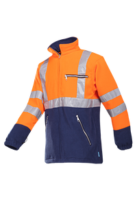 SIOEN Warnschutz Fleecejacke Kingley orange