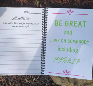 Living Life Just Right Empowerment Journal & Empowered Woman Pen