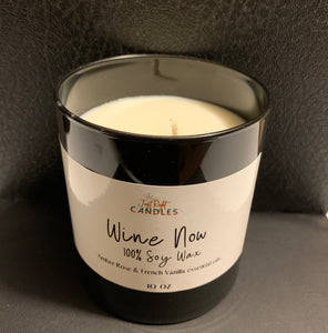 Wine Now Candle
