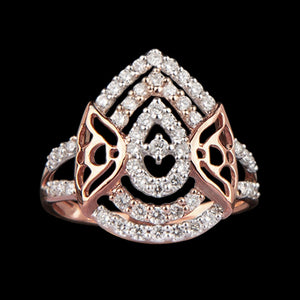 R4967 - Joyous  Jacket Ring