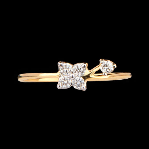 R1318 - Elegant Bloom Ring