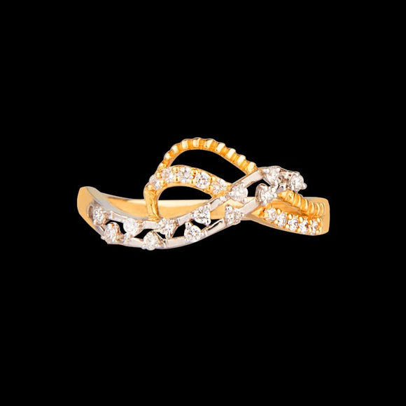 R6848 - Intricate Intertwine Ring