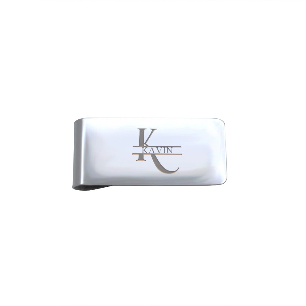 Name Money Clip Credit Card Holder - Anavia Personalized Jewelry & Gifts