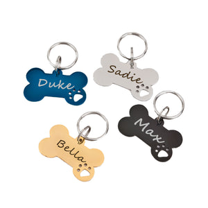 Personalized Large Size Dog Bone Dog Tag - Anavia Personalized Jewelry & Gifts