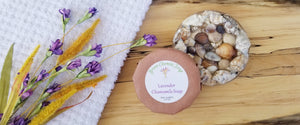 Featuring our Seashell Lifting Soap Dish and Lavender Chamomile Soap