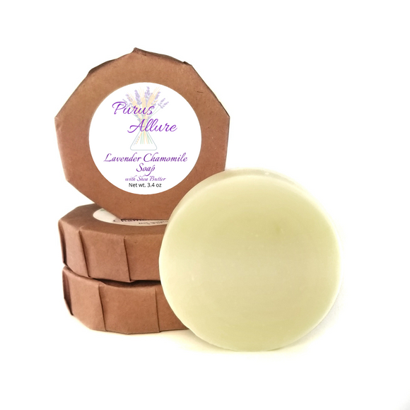 Lavender Chamomile Soap with Shea Butter