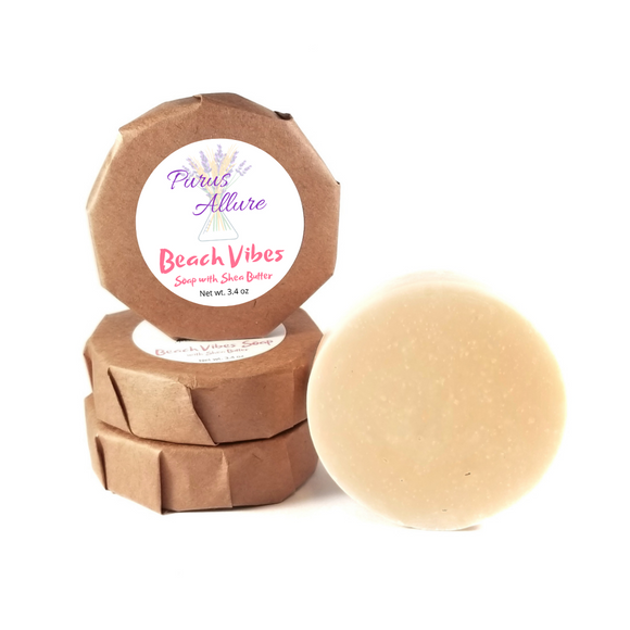 Beach Vibes Soap with Shea Butter