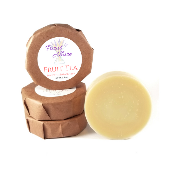 Fruit Tea Soap with Shea Butter