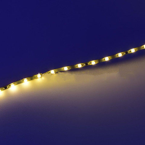 Image of 3MM Wide Super Slim 5Meter Roll 12V DC SMD0805 7.2Watt/M 120LED per Meter LED Flexible Strip for Sand Table, Scale Model lighting LED Tape Light
