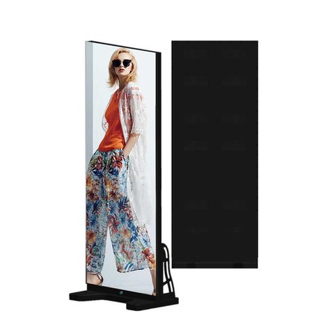 LED.app EPG Series Frameless Indoor LED Poster Display with GOB Protective IP65 Front Surface with 1.875 | 2.0 | 2.5mm Pixel Pitch in 720x1920mm Large Display Area