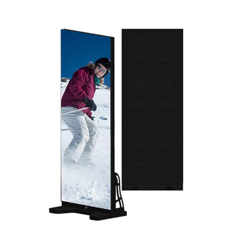 EPG Series Frameless Indoor LED Poster Display with GOB Protective IP65 Front Surface with 1.875 | 2.0 | 2.5mm Pixel Pitch in 480x1920mm Small Display Area
