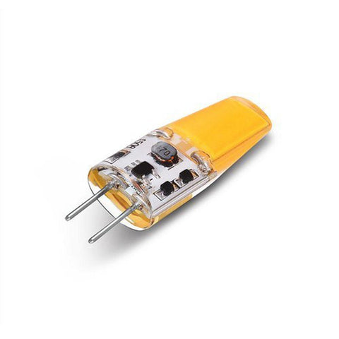 Image of 10 Pack G4 LED Light Bulb Bi-Pin Silicon Encapsulation 12V 2.5 W 1508 COB LEDs CRI>80 230-250Lumen 25W Equivalent