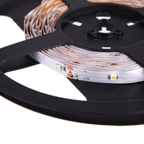 Image of DC 12V Red/Blue/Green/Yellow SMD3528-150 Flexible LED Strips 30 LEDs Per Meter 8mm Width 150lm Per Meter