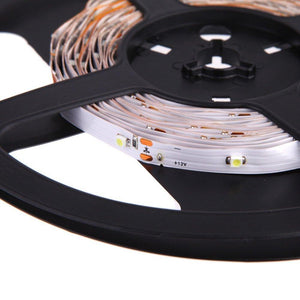 DC 12V Red/Blue/Green/Yellow SMD3528-150 Flexible LED Strips 30 LEDs Per Meter 8mm Width 150lm Per Meter