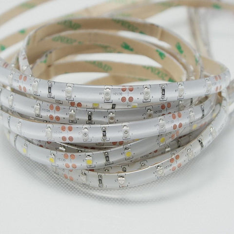 Image of DC 12V Red/Blue/Green/Yellow Dimmable SMD3528-300 Flexible LED Strips 60 LEDs Per Meter 8mm Width 300lm Per Meter