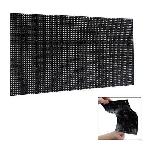 Image of M-F4L (P4) Bare Board LED Module, 4mm Full RGB Pixel Panel Screen in 320 * 160 mm with 3200 dots, 1/16 Scan, 800 Nits LED Tile for Indoor Display