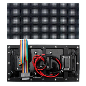 New Generation M-WF8 P8 (8mm) Outdoor Waterproof LED Module, 8mm Pixel Pitch Full RGB LED Panel Screen in 256* 128 mm with 512 dots, 1/8 Scan, 4500 Nits For Outdoor Display