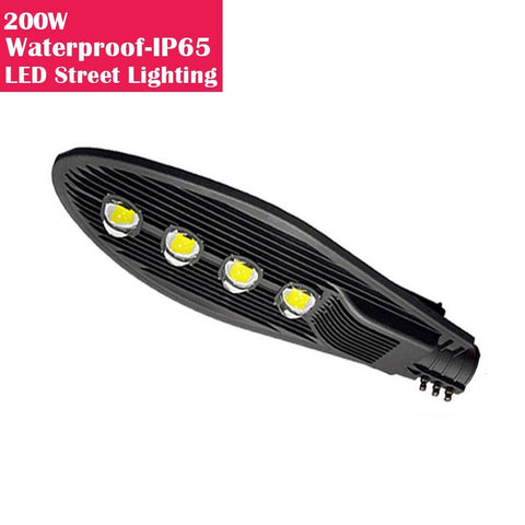 Image of 200W IP65 Waterproof LED Pole Light for LED Street Lighting Pure White 6500K