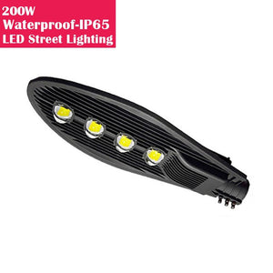 200W IP65 Waterproof LED Pole Light for LED Street Lighting Pure White 6500K