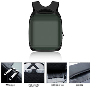 3rd New Generation Dynamic Displayed LED Backpack APP Controlled LED Advertising Bag