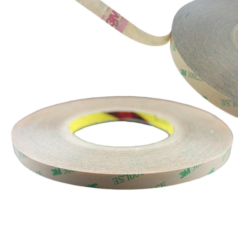 Image of 55M(180 Feet) Roll 0.14mm Thick 300LSE Heat Resisiting Double Sided Tape Adhesive Stronger Stick for LED Strip Lights