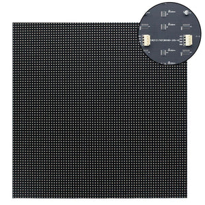 M-F3.8 (P3.8) Bare Board LED Module, 3.8mm Full RGB Pixel Panel Screen in 304.8 * 304.8 mm ( 1sq.ft) with 6400 dots, 1/20 Scan, 800 Nits LED Tile for Indoor Display