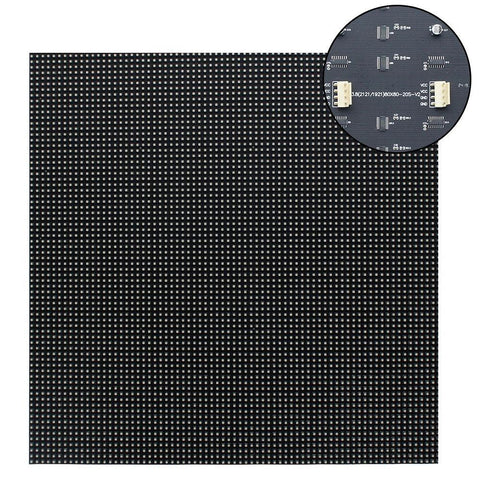 Image of M-SF3.8 (P3.8) Silicon Based LED Module, 3.8mm Full RGB Pixel Panel Screen in 304.8 * 304.8 mm ( 1sq.ft) with 6400 dots, 1/20 Scan, 800 Nits LED Tile for Indoor Display