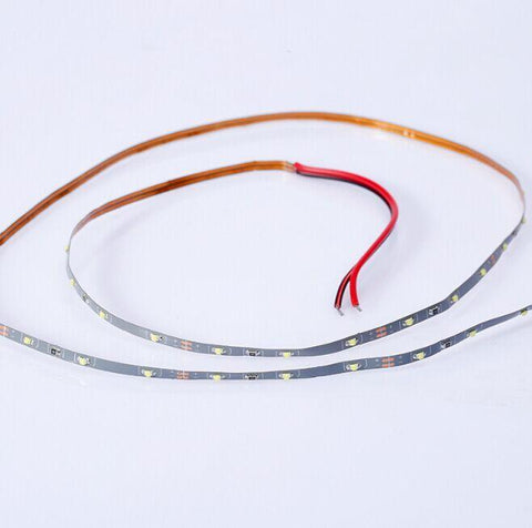 3MM Wide Super Narrow 5Meter Roll 12V DC SMD0805 3.5Watt/M 60LED per Meter LED Flexible Strip for Sand Table, Scale Model lighting
