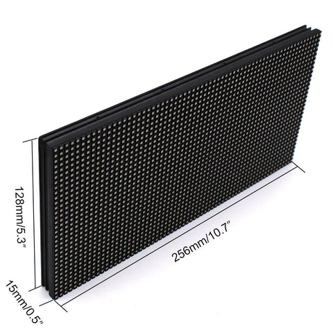 Image of M-OD4 P4 Normal Outdoor Series LED Module,Full RGB 4mm Pixel Pitch LED Tile in 256*128mm with 2048 dots, 1/8 Scan, 5000 Nits  for Outdoor Display