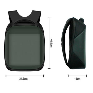 Free Shipping 3rd New Generation Dynamic Displayed LED Backpack APP Controlled LED Advertising Bag