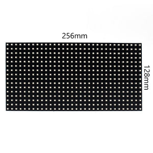 M-F8 (P8 Base Board LED Module, 8mm Full RGB Pixel Panel Screen in 256 * 128 mm with 512 dots, 1/8 Scan, 4500 Nits LED Tile for Indoor Display