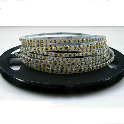Image of 5mm Wide White FPCB Background Super Slim DC 12V Dimmable SMD3014-600 Flexible LED Strips 120 LEDs Per Meter 1200lm Per Meter